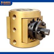 Plastic thermoplastic extrusion pump