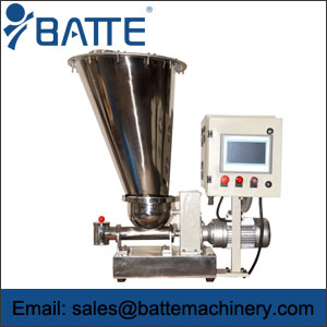 Gravimetric loss in weight feeder